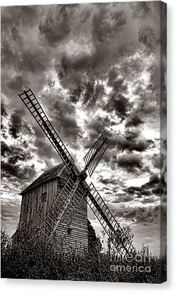 The Last Windmill Canvas Print by Olivier Le Queinec