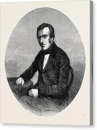 The Late Sir Benjamin Collins Brodie Bart Canvas Print