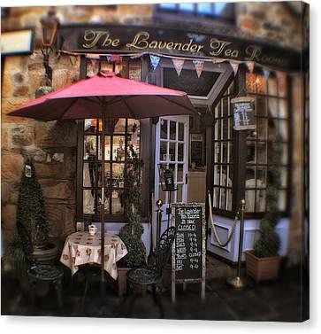 The Lavender Tea Rooms - Peak District - England Canvas Print by Doc Braham