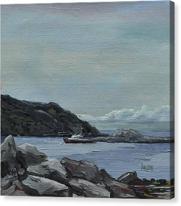 The Legacy - Monhegan Maine Canvas Print