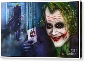 The Legend Of Ledger Canvas Print by Therese Larsson