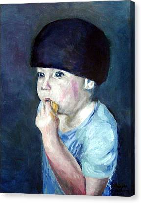 The Lemon Eater Canvas Print