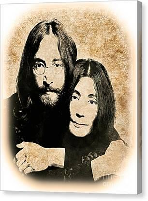 The Lennons Canvas Print