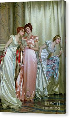 The Letter Canvas Print by Vittorio Reggianini