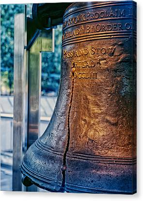 The Liberty Bell In Philadelphia Canvas Print by Mountain Dreams