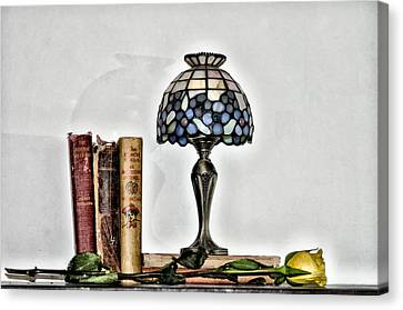 The Library Canvas Print by Bill Cannon