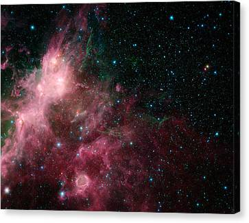 The Life And Death Of Stars Canvas Print