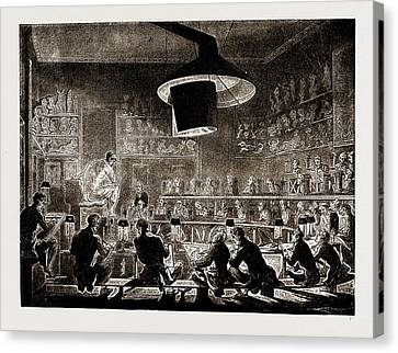 The Life School Of The Academy, Somerset House Canvas Print by Litz Collection