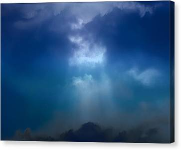 Light Above The Storm Canvas Print