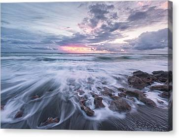 The Light Flares Canvas Print by Jon Glaser
