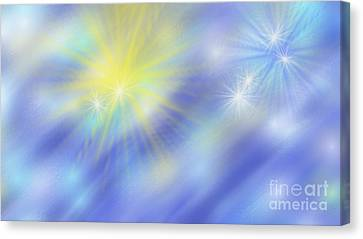 The Light Season Canvas Print by Rosana Ortiz