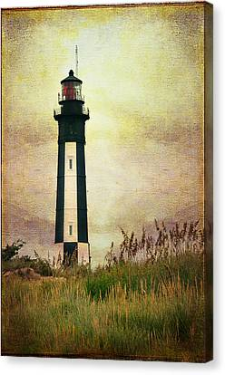 The Lighthouse Canvas Print by Barbara Manis