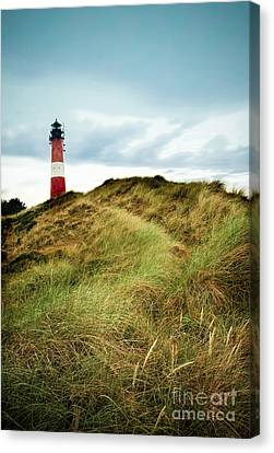 the lighthouse of Hoernum Canvas Print by Hannes Cmarits