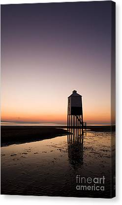 The Lighthouse On Legs Canvas Print by Anne Gilbert