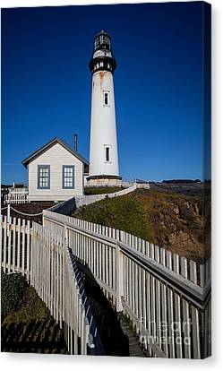Canvas Print featuring the photograph the Lighthouse by Steven Reed