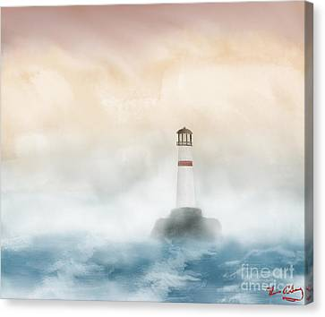 The Lighthouse Canvas Print by Thomas OGrady