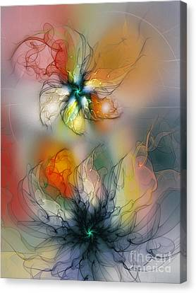 The Lightness Of Being-abstract Art Canvas Print