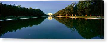 The Lincoln Memorial At Sunrise Canvas Print by Panoramic Images