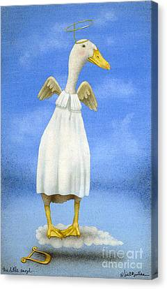 The Little Angel... Canvas Print by Will Bullas