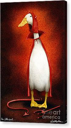 The Little Devil... Canvas Print by Will Bullas