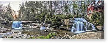 The Living Waters Canvas Print by Donnie Smith