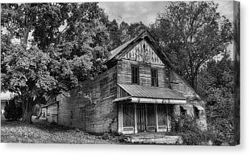 The Local Haunted House Canvas Print by Heather Applegate
