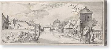The Location Of The Carthusian Monastery In Amsterdam Canvas Print