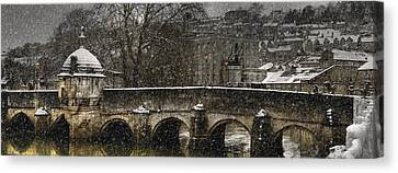 The Lock Up Canvas Print by John Chivers