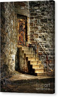 The Locked Door Canvas Print by Lois Bryan