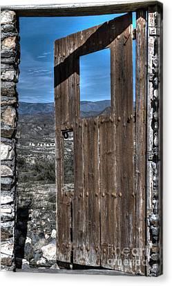 The Lockless Door Canvas Print by Heiko Koehrer-Wagner