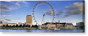 The London Eye Canvas Print by Rod McLean