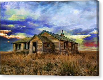 The Lonely House Canvas Print