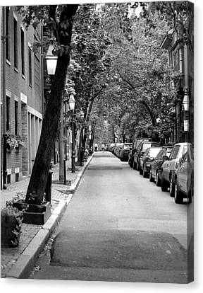 The Long And Narrow Canvas Print by Kirt Tisdale