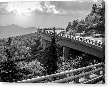 Smokey Mountain Drive Canvas Print - The Long And Winding Road by Karen Wiles