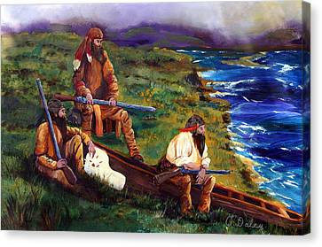 The Long Hunters Canvas Print by Gail Daley