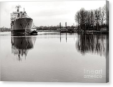 The Long Journey Home Canvas Print by Olivier Le Queinec
