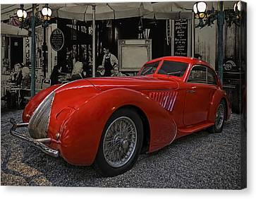 The Long Red One Canvas Print