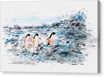 The Long Walk 1 Canvas Print