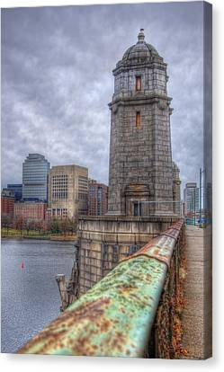 The Longfellow Bridge - Boston Canvas Print by Joann Vitali