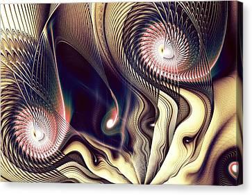 The Look Canvas Print by Anastasiya Malakhova