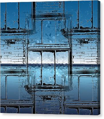 The Looking Glass Reprised Canvas Print by Tim Allen