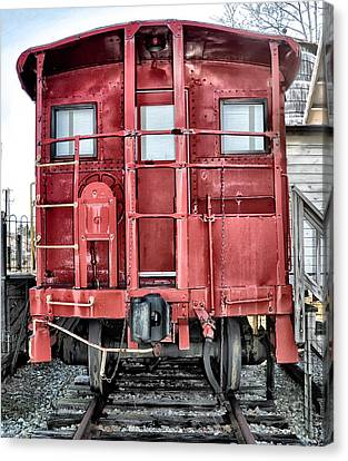 The Loose Caboose Canvas Print by Bill Cannon