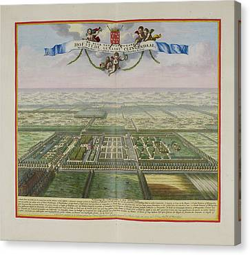The Lord Of Annaland's Seat Canvas Print by British Library