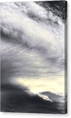 The Lord Stretches Out The Heavens Canvas Print