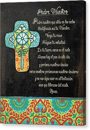 The Lord's Prayer Canvas Print by Jo Moulton