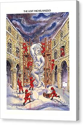 The Lost Michelangelo Canvas Print by Tom Hachtman