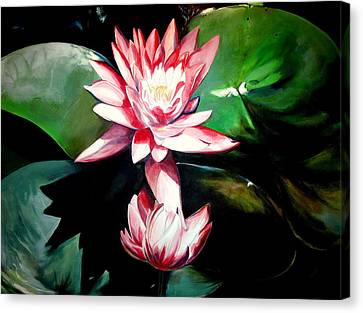 The Lotus Canvas Print by John  Duplantis