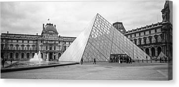 The Louvre  Canvas Print by Steven  Taylor