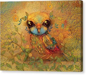 The Love Bird Canvas Print by Karin Taylor