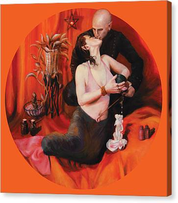 The Lovers Canvas Print by Shelley Irish